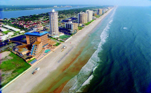 Daytona Beach Shores Arial View