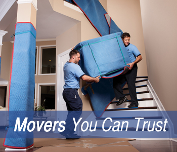 Movers working for a long distance moving company in Daytona Beach, FL
